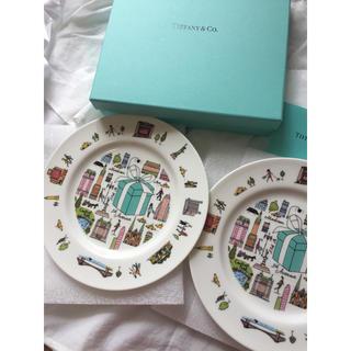 ティファニー(Tiffany & Co.)のティファニープレート2点セット(食器)