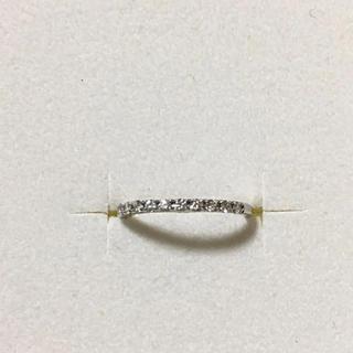 プラチナダイヤモンド/ピンキーリング(リング(指輪))