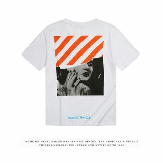 オフホワイト(OFF-WHITE)のOFF-WHITET  シャツ 男女兼用(Tシャツ(半袖/袖なし))