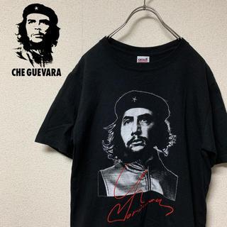 ヘインズ(Hanes)の希少! ゲバラ フェイスプリント  tシャツ 90's 80's(Tシャツ/カットソー(半袖/袖なし))