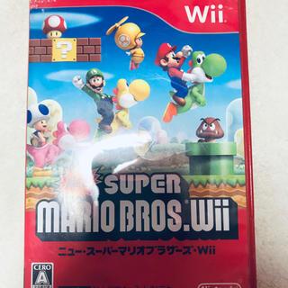 ニンテンドウ(任天堂)のWii スーパーマリオWii(ゲーム)