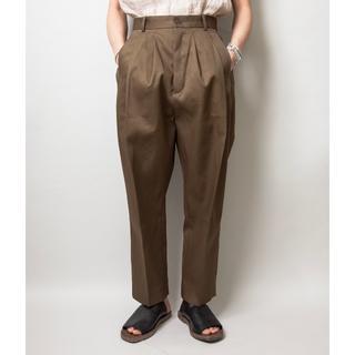 COMOLI - Hed mayner 18ss 4 pleats pants