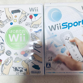 ニンテンドウ(任天堂)のWii はじめてのWii Wiiスポーツ(ゲーム)