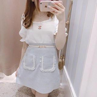 evelyn - フラワーポケットスカート♡