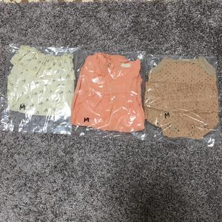 ☆人気☆韓国子供服 monbebe 3枚セット(ロンパース)