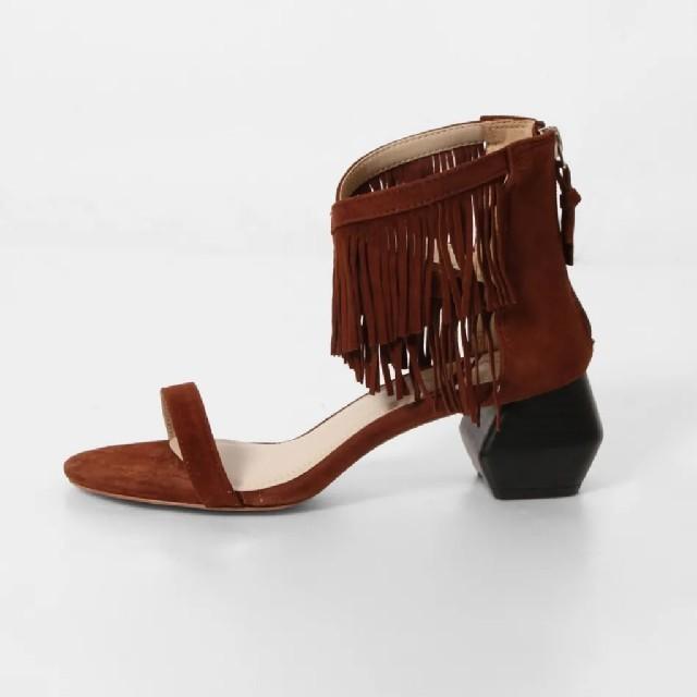 GRACE CONTINENTAL(グレースコンチネンタル)の新品未使用♥️グレースコンチネンタル フリンジサンダル レディースの靴/シューズ(サンダル)の商品写真