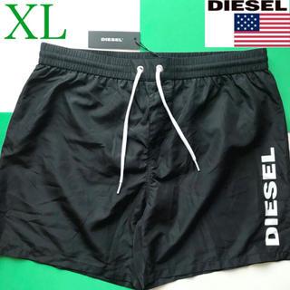 ディーゼル(DIESEL)の【新品】DIESEL ディーゼル USA メンズ 水着 XL ブラック(水着)