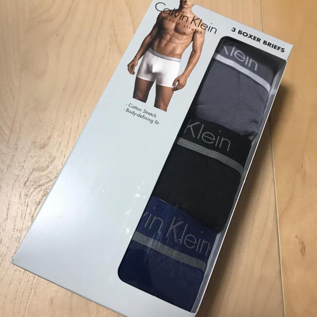Calvin Klein(カルバンクライン)の正規品新品Calvin Klein ボクサーパンツ 枚組(3色)M 期間限定価格 メンズのアンダーウェア(ボクサーパンツ)の商品写真