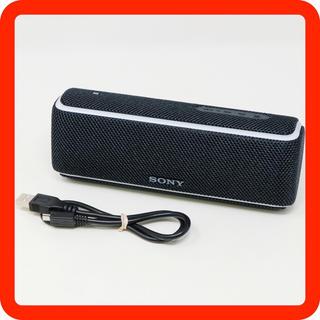 ソニー(SONY)の新古品◯SONY SRS-XB21 防水 Bluetooth スピーカー 黒(スピーカー)