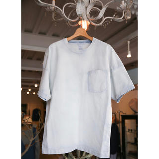 ビームス(BEAMS)のName. BLEACHD OVER SIZED TEE 超美品 サイズ2(Tシャツ/カットソー(半袖/袖なし))