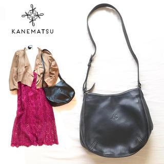 GINZA Kanematsu - kana❤︎rumi 様ご専用❤️美品銀座かねまつ 4万レザーショルダーバッグ