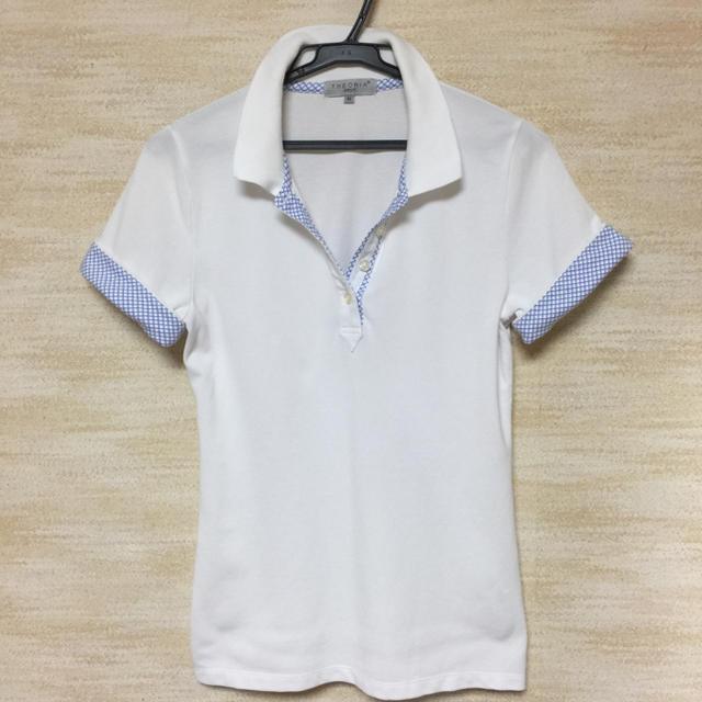 しまむら(シマムラ)の鹿の子ポロシャツ レディースのトップス(ポロシャツ)の商品写真