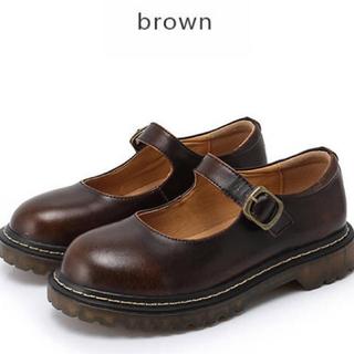 フィント(F i.n.t)のストラップ パンプス(ローファー/革靴)