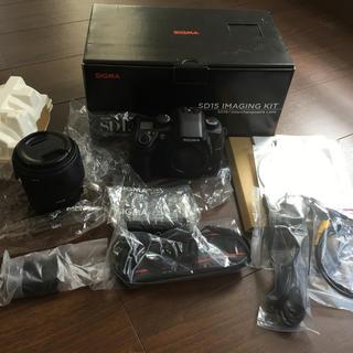 SIGMA - シグマ sigma  SD15  レンズセット