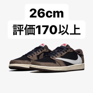 NIKE - 26cm NIKE air jordan1 LOW TRAVIS SCOTT