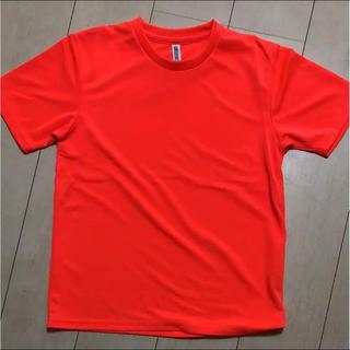 Tシャツ オレンジ L(Tシャツ(半袖/袖なし))