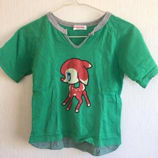 パーソンズキッズ(PERSON'S KIDS)のPerson's KIDS 女児 半袖 Tシャツ 130(Tシャツ/カットソー)