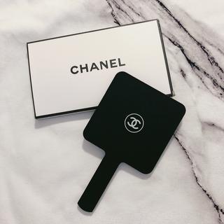 CHANEL - 新品CHANEL ミラー 手鏡シャネル コスメライン ノベルティ かがみ