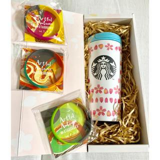 Starbucks Coffee - 【スタバ】さくらタンブラー★チケットつき