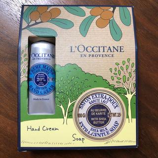 ロクシタン(L'OCCITANE)の新品未使用 ロクシタン ハンドクリーム ソープ(ハンドクリーム)