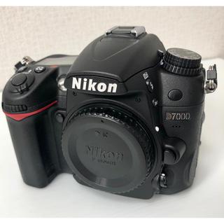 Nikon - NiKON D7000 ボディ ショット数470回!