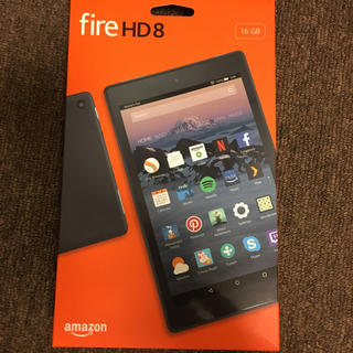 ANDROID - fire hd 8 タブレット