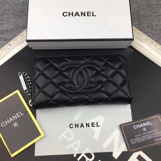 CHANEL - 高品質 安心購入の長財布 高品質