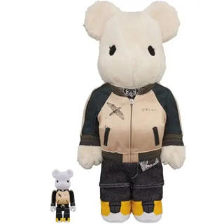 MEDICOM TOY - sacai BE@RBRICK 100% & 400%
