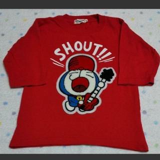 サンリオ - ドラえもん アップリケ ギター Tシャツ 120