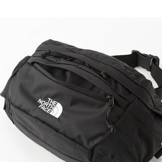 ザノースフェイス(THE NORTH FACE)の新品!ノースフェイス スピナ SPINA 黒 ブラック 5L ショルダーバッグ(ボディーバッグ)