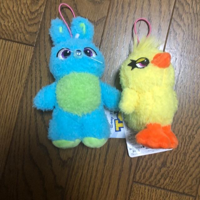 Disney(ディズニー)のダッキー&バニー エンタメ/ホビーのおもちゃ/ぬいぐるみ(ぬいぐるみ)の商品写真