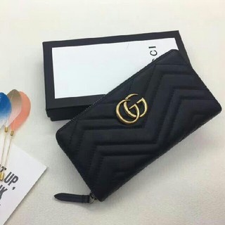 Gucci - Gucci グッチ 財布 ブラック
