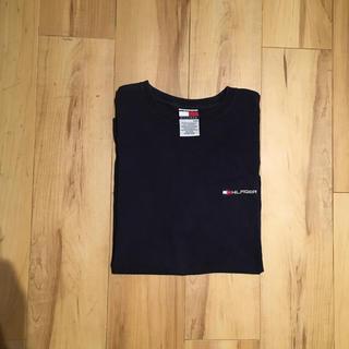 TOMMY HILFIGER - トミーヒルフィガー Tシャツ ネイビー M 90年代