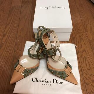 クリスチャンディオール(Christian Dior)のクリスチャンディオールポインテッドトゥミュール(ミュール)