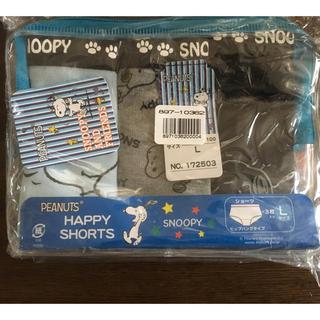 スヌーピー(SNOOPY)のスヌーピー  3枚組  新品未使用(ショーツ)