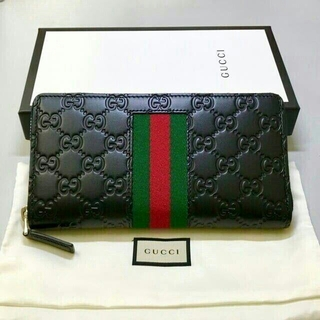 Gucci - GUCCI グッチ ラウンドファスナー 長財布