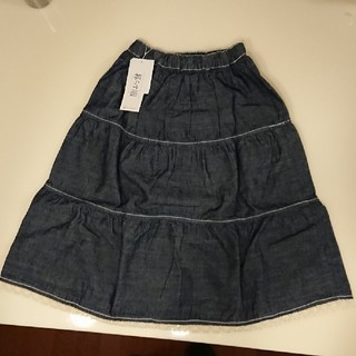 ベルメゾン - 千趣会 ベルメゾン 女児130スカート《新品未使用》