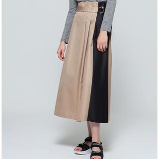 ダブルスタンダードクロージング(DOUBLE STANDARD CLOTHING)のダブスタ サイロバーバリロングスカート 2019(ロングスカート)