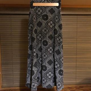 lowrysfarm ペイズリースカート
