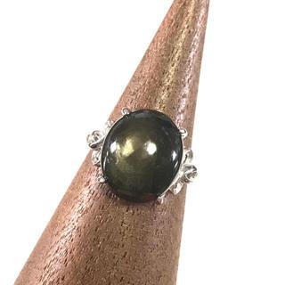 五郎様♡ブラックサファイア silver925 リング(リング(指輪))