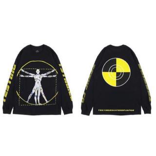 Supreme - ASAP ROCKY TESTING XL ロンT 長袖 黒 black