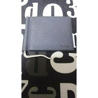 PRADA - PLADA マネークリップ 財布 正規品  2つ折り財布 最終価格になります。