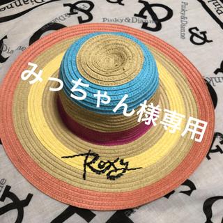 ロキシー(Roxy)のROXY 麦わら帽子 ハット(麦わら帽子/ストローハット)