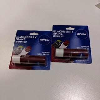 ニベア(ニベア)の韓国  NIVEA ニベア リップ  ブラックベリー(リップケア/リップクリーム)