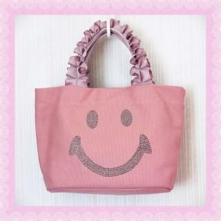 しまむら - しまむら にこちゃんバッグ ピンク 未使用
