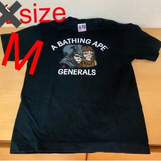 アベイシングエイプ(A BATHING APE)の【美品】APE メンズT 猿の惑星 Mサイズ(Tシャツ/カットソー(半袖/袖なし))