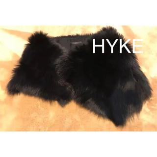 ハイク(HYKE)のフォックスファー  green (現 :HYKE )(マフラー/ショール)