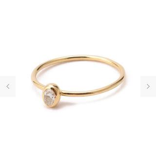 アッシュペーフランス(H.P.FRANCE)のイロンデール 18K ダイヤリング(リング(指輪))