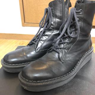 ヨウジヤマモト(Yohji Yamamoto)のヨウジヤマモト 18aw サイドジップブーツ(ブーツ)