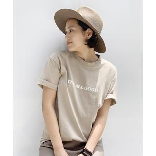 L'Appartement DEUXIEME CLASSE - 新品 ISM It All Good Tシャツ ベージュ AP STUDIO